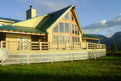 View of Eagle's Peak Lodge